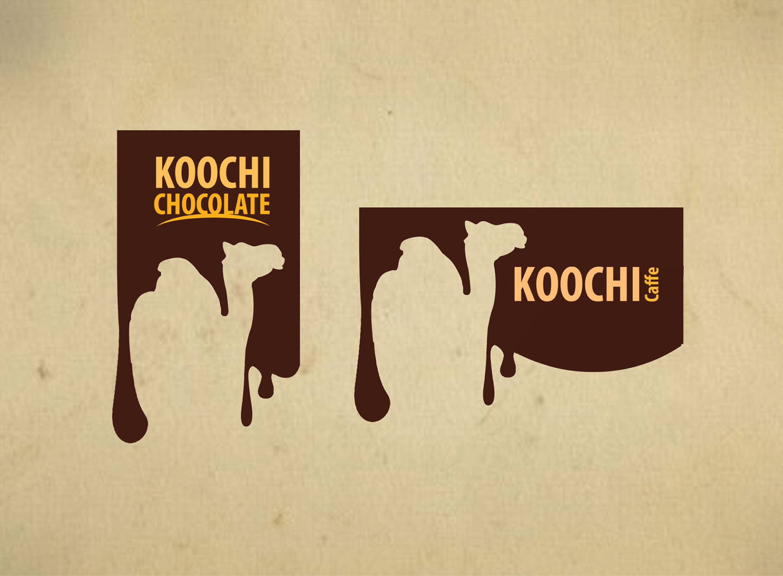 koochi cafe branding