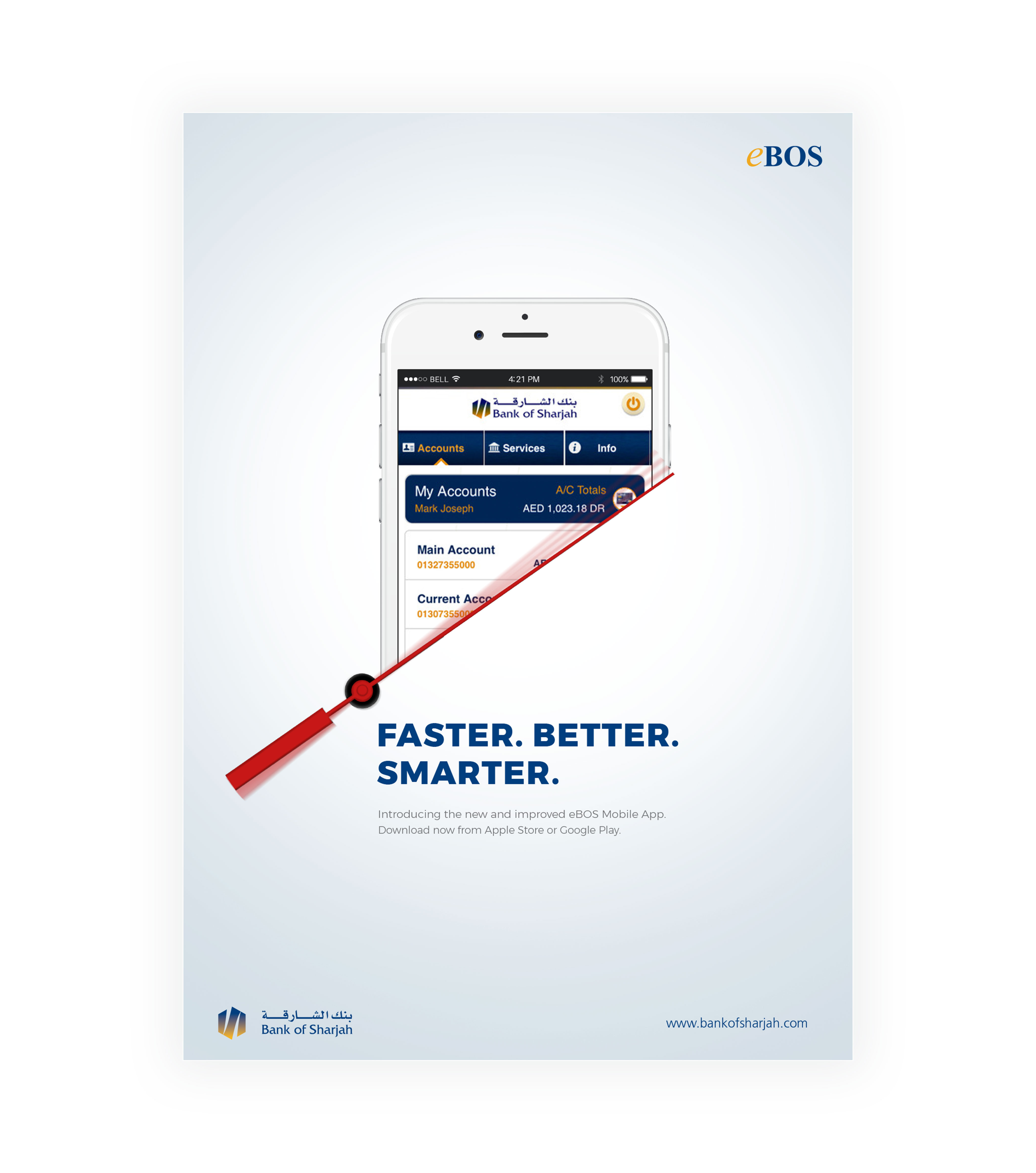 eBOS Mobile Application Posters