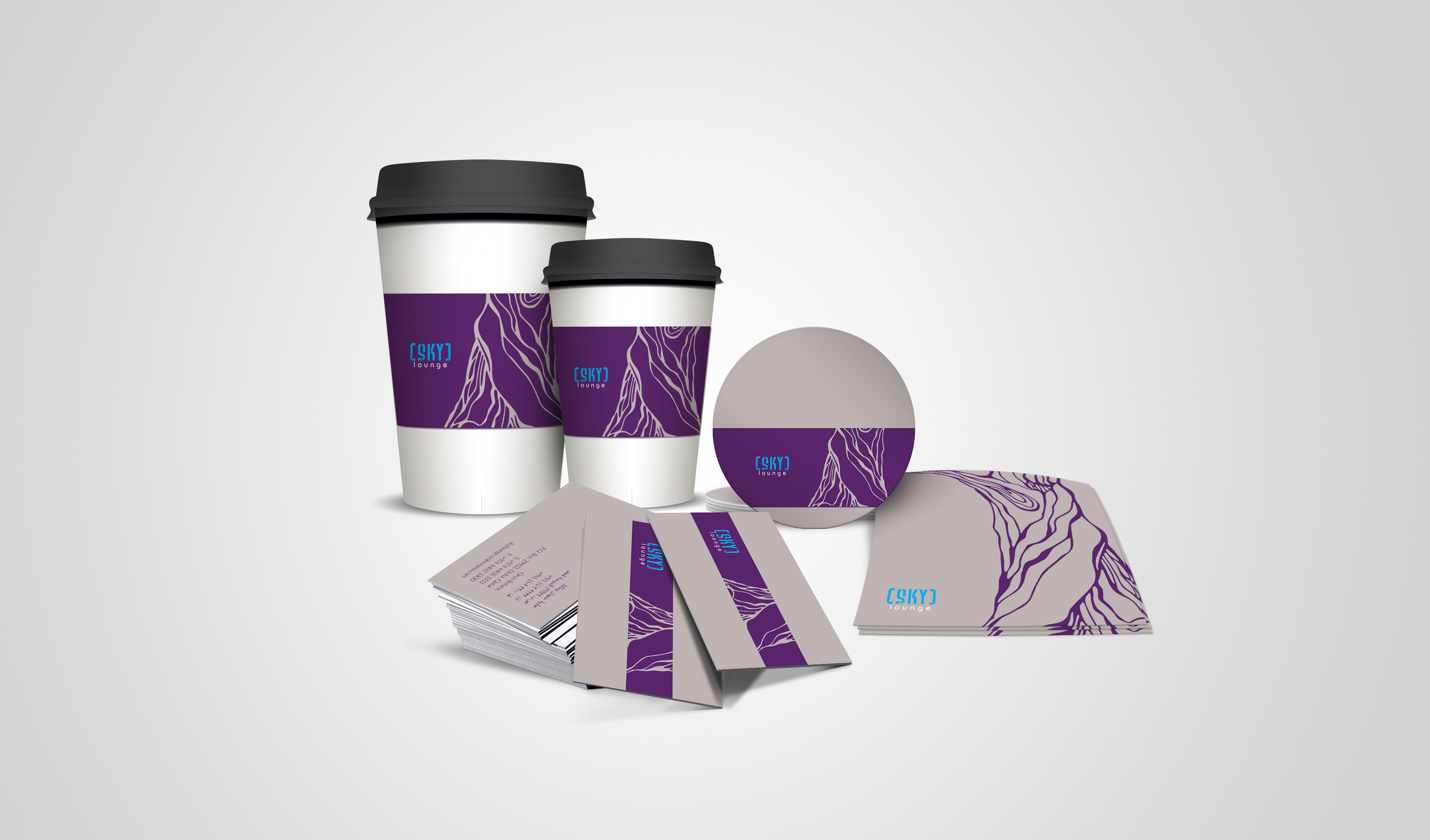 sky lounge package design