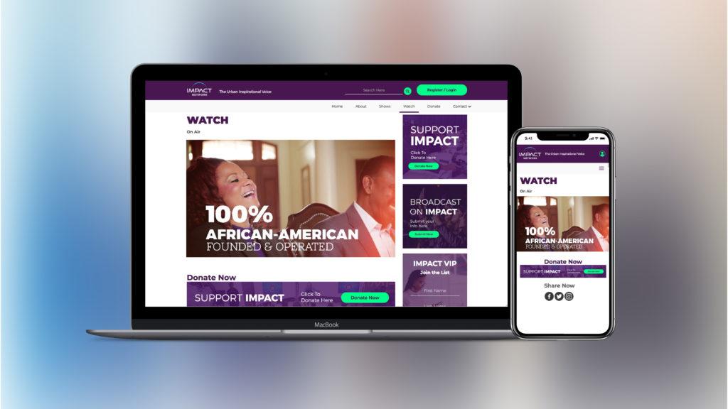 watch impact website redesign - charith design charith priyadarshana